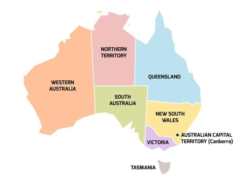 Comparative Table of VAD Legislation in Australia